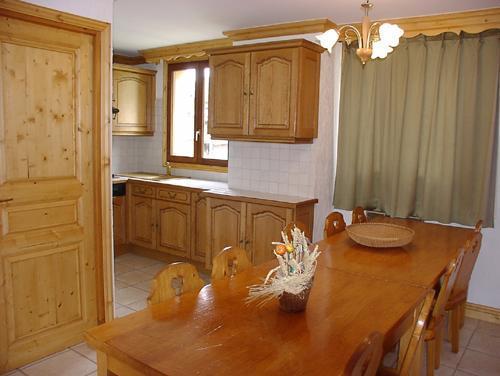 Location au ski Appartement duplex 4 pièces 8 personnes (4) - Résidence la Voute - Saint Martin de Belleville - Coin repas