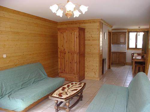Location au ski Appartement duplex 4 pièces 8 personnes (4) - Résidence la Voute - Saint Martin de Belleville - Coin séjour