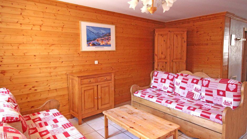 Location au ski Appartement duplex 4 pièces 8 personnes (4) - Résidence la Voute - Saint Martin de Belleville - Séjour