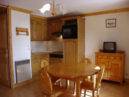 Location au ski Studio 4 personnes (1) - Résidence la Voute - Saint Martin de Belleville - Coin repas