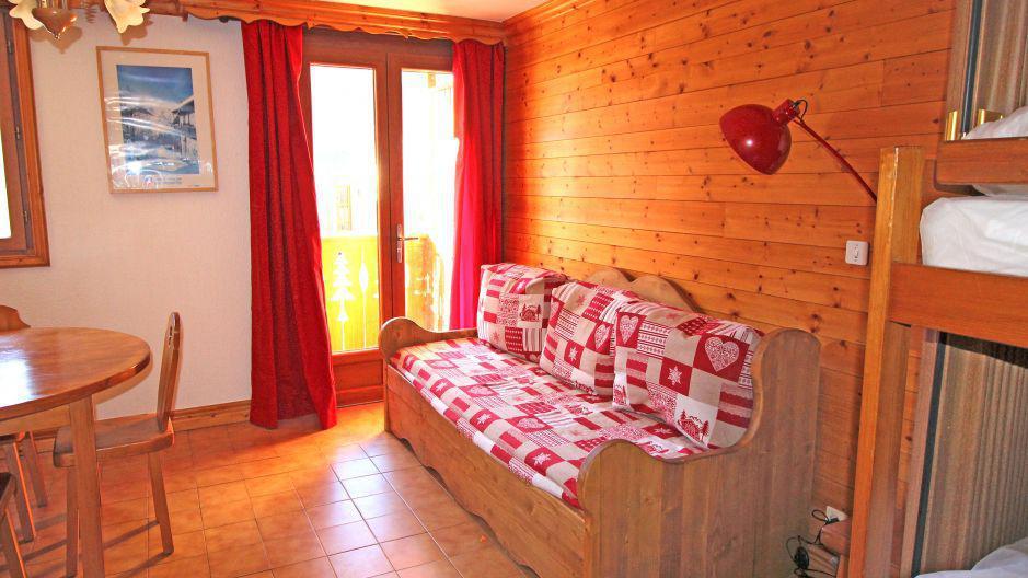 Location au ski Studio 4 personnes (1) - Résidence la Voute - Saint Martin de Belleville - Séjour