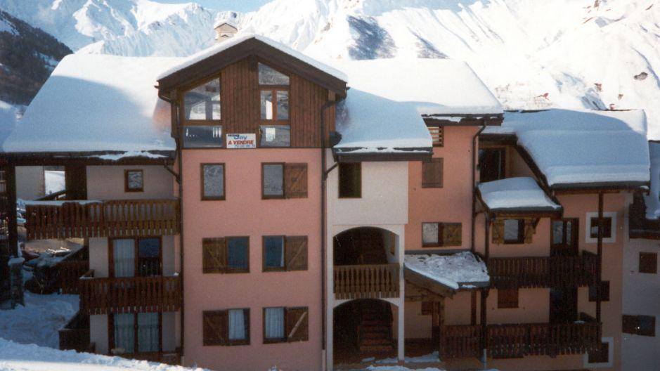 Location au ski Résidence le Biolley - Saint Martin de Belleville - Extérieur hiver