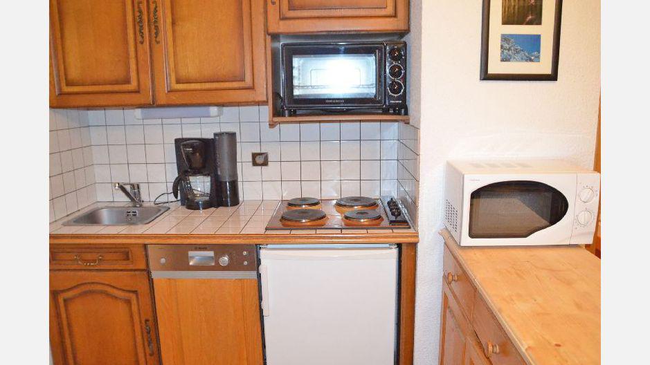 Location au ski Appartement 2 pièces 6 personnes - Résidence le Biolley - Saint Martin de Belleville - Cuisine