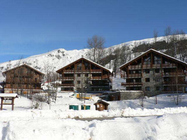 Wakacje w górach Résidence le Cochet - Saint Martin de Belleville - Zima na zewnątrz
