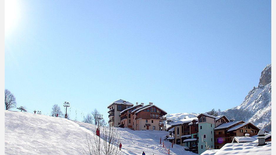 Vacances en montagne Résidence le Neiger - Saint Martin de Belleville - Extérieur hiver