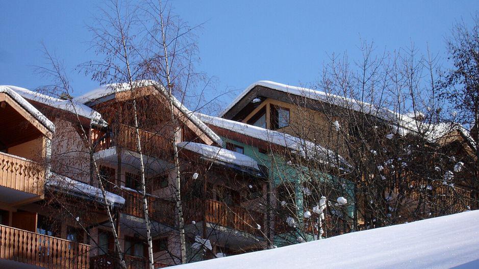 Location au ski Résidence le Neiger - Saint Martin de Belleville - Extérieur hiver
