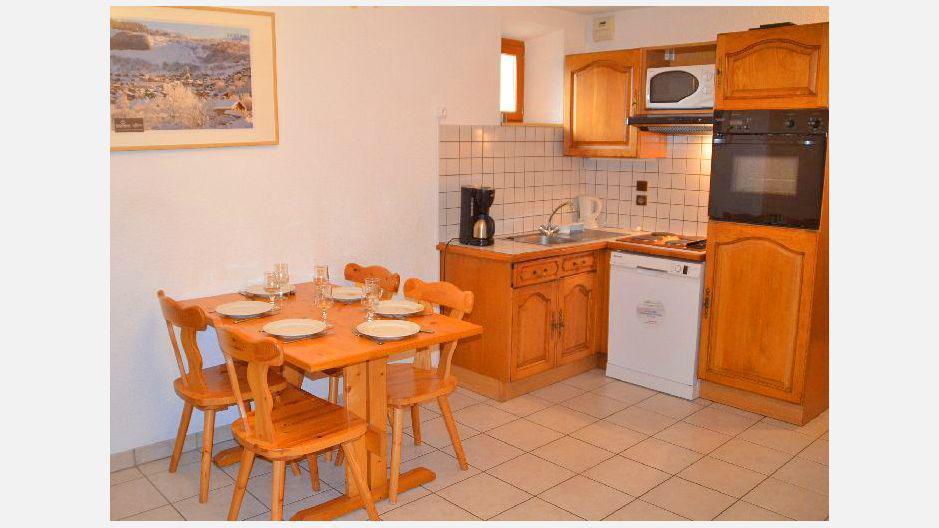 Location au ski Appartement 2 pièces 4 personnes (6) - Résidence les Coronilles - Saint Martin de Belleville - Cuisine