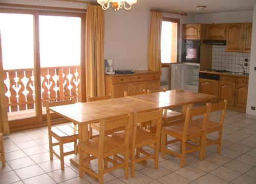Location au ski Appartement 3 pièces 6 personnes (3) - Résidence les Coronilles - Saint Martin de Belleville - Coin repas