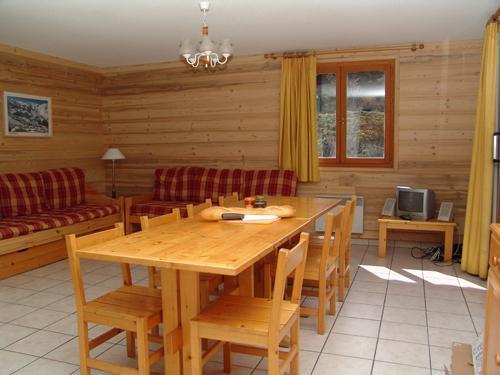 Location au ski Résidence les Coronilles - Saint Martin de Belleville - Coin repas