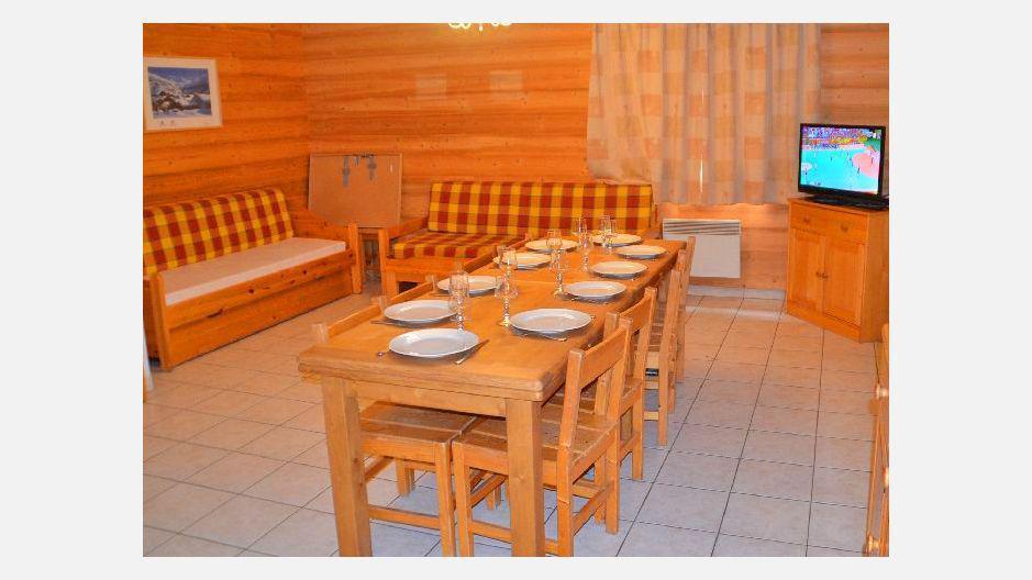 Location au ski Résidence les Coronilles - Saint Martin de Belleville - Table