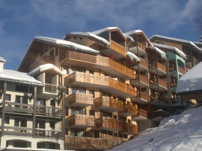 Location au ski Résidence Trolles - Saint Martin de Belleville - Extérieur hiver