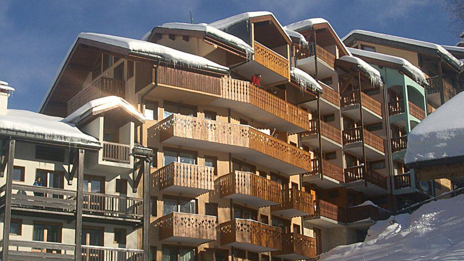 Vacanze in montagna Résidence Trolles - Saint Martin de Belleville - Esteriore inverno