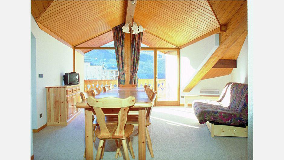 Location au ski Résidence Trolles - Saint Martin de Belleville - Salle à manger