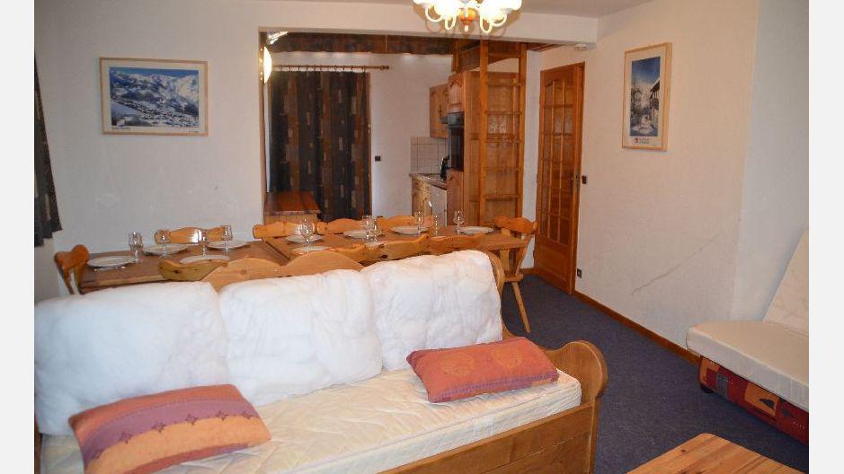 Location au ski Résidence Trolles - Saint Martin de Belleville - Séjour