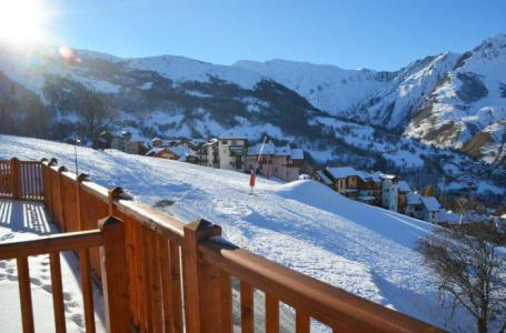 Holiday in mountain resort 2 room apartment cabin 4 people (3) - Chalet Adèle - Saint Martin de Belleville - Winter outside