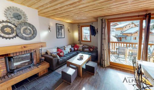 Rental Les Menuires : Chalet de la Villette winter