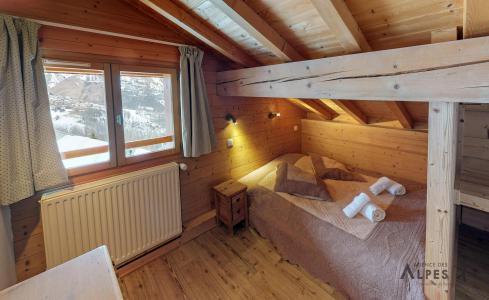 Location au ski Chalet 10 pièces 18 personnes (LET) - Chalet de la Villette - Saint Martin de Belleville - Chambre mansardée