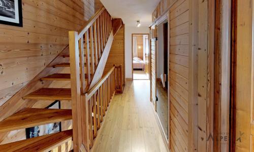 Location au ski Chalet 10 pièces 18 personnes (LET) - Chalet de la Villette - Saint Martin de Belleville - Escalier