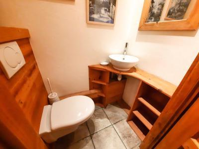 Location au ski Chalet duplex 5 pièces 12 personnes - Chalet des Encombres - Saint Martin de Belleville - Chambre mansardée
