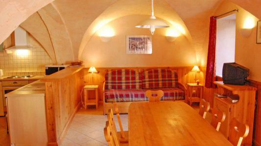 Rent in ski resort 3 room apartment 6 people - Chalet Gremelle - Saint Martin de Belleville - Dining area