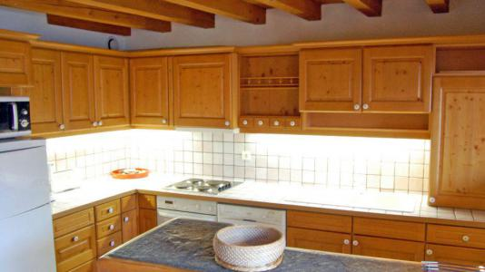 Rent in ski resort 6 room duplex apartment 10 people - Chalet Gremelle - Saint Martin de Belleville - Kitchen