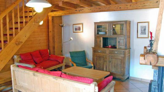 Rent in ski resort 6 room duplex apartment 10 people - Chalet Gremelle - Saint Martin de Belleville - Living room