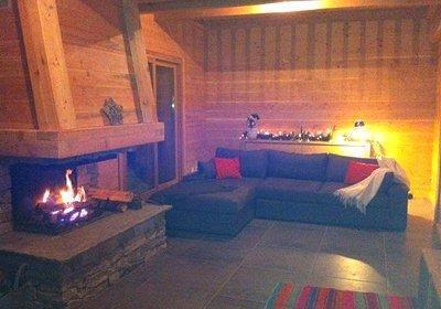 Location au ski Chalet Indiana - Saint Martin de Belleville - Cheminée