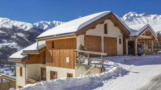 Vacances en montagne Chalet Iris - Saint Martin de Belleville - Extérieur hiver