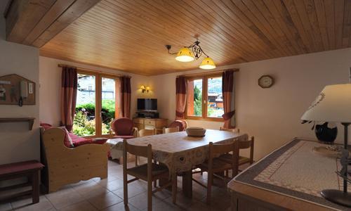 Location au ski Appartement 4 pièces 6 personnes - Chalet Iris - Saint Martin de Belleville - Séjour