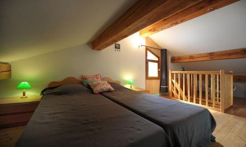Location au ski Appartement duplex 3 pièces 5 personnes - Chalet Iris - Saint Martin de Belleville - Lit simple