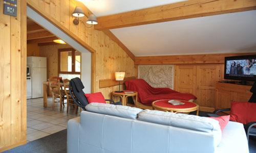 Location au ski Appartement duplex 3 pièces 5 personnes - Chalet Iris