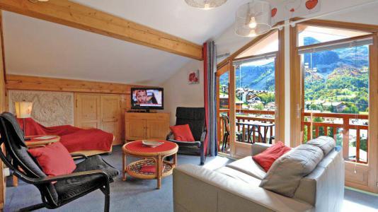Location au ski Appartement duplex 3 pièces 5 personnes - Chalet Iris - Saint Martin de Belleville - Séjour