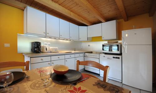 Location au ski Appartement duplex 3 pièces 5 personnes - Chalet Iris - Saint Martin de Belleville - Table