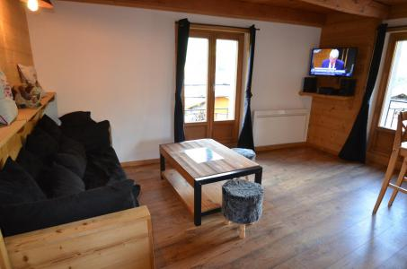 Rent in ski resort 4 room triplex chalet 6 people - Chalet la Tarine - Saint Martin de Belleville