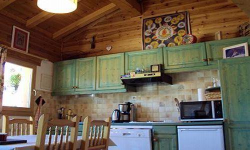 Location au ski Chalet 3 pièces cabine 6 personnes - Chalet Les Pachons - Saint Martin de Belleville - Cuisine