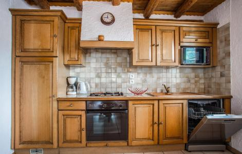 Rent in ski resort Chalet Loutantin - Saint Martin de Belleville - Open-plan kitchen