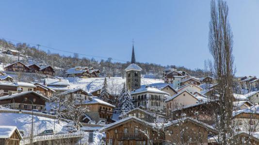Аренда на лыжном курорте Chalet Marmottes - Saint Martin de Belleville - зимой под открытым небом