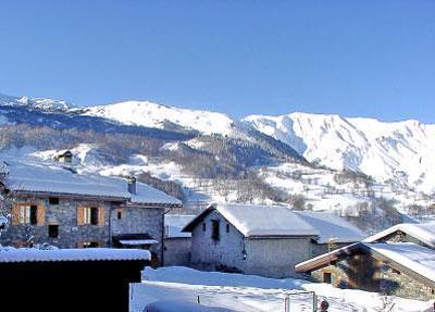 Location au ski Chalet triplex 4 pièces 7 personnes - Chalet Marmottes - Saint Martin de Belleville - Extérieur hiver