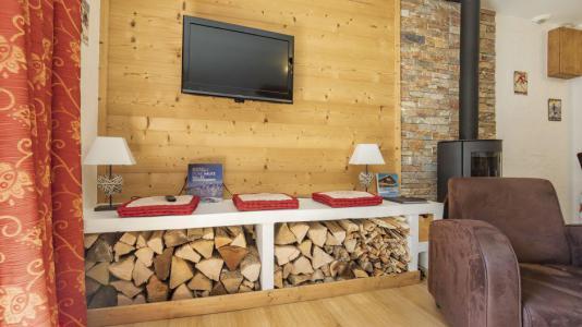 Аренда на лыжном курорте Chalet Marmottes - Saint Martin de Belleville - Салон