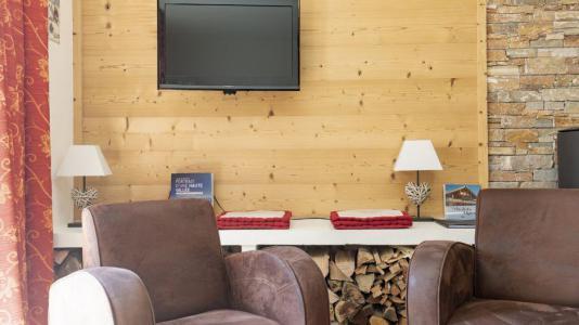 Аренда на лыжном курорте Chalet Marmottes - Saint Martin de Belleville - Телевизор