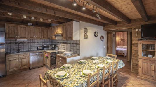 Location au ski Chalet Mimosa - Saint Martin de Belleville - Cuisine