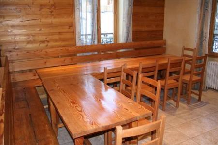 Location au ski Chalet 11 pièces 18 personnes - Chalet Oursons - Saint Martin de Belleville - Coin repas
