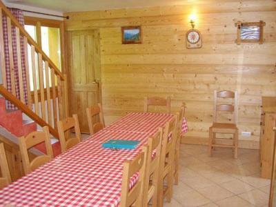 Location au ski Chalet 6 pièces 12 personnes - Chalet Paradis De St Martin - Saint Martin de Belleville - Salle à manger