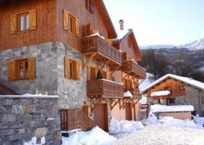 Location au ski Chalet Paulo - Saint Martin de Belleville - Extérieur hiver