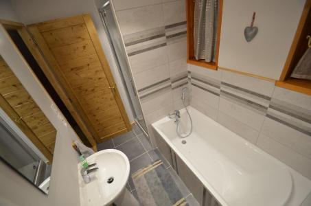 Rent in ski resort 4 room chalet 8 people - Chalet Pierre - Upton - Saint Martin de Belleville - Bath-tub