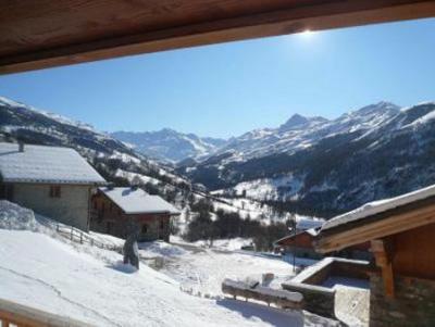Location au ski Chalet Saint Marc - Saint Martin de Belleville - Extérieur hiver