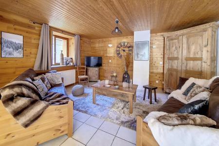 Location au ski Chalet triplex 4 pièces 6 personnes (Siana) - Chalets les Granges - Saint Martin de Belleville - Table basse