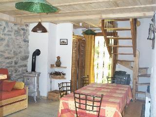 Location au ski Chalet 3 pièces 6 personnes (Marie) - Chalets Les Varcins - Saint Martin de Belleville - Coin repas