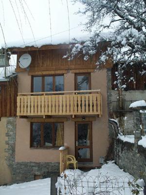 Location au ski Chalet 3 pièces 6 personnes (Marie) - Chalets Les Varcins - Saint Martin de Belleville - Extérieur hiver