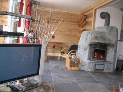 Location au ski Chalet 7 pièces 12 personnes (Eden) - Chalets Les Varcins Luxe - Saint Martin de Belleville - Cheminée